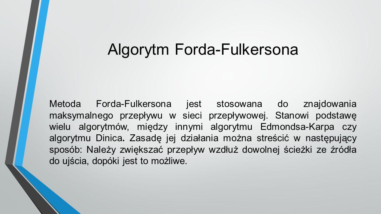 Algorytm Forda-Fulkersona