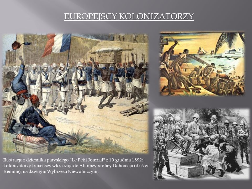 EUROPEJSCY KOLONIZATORZY
