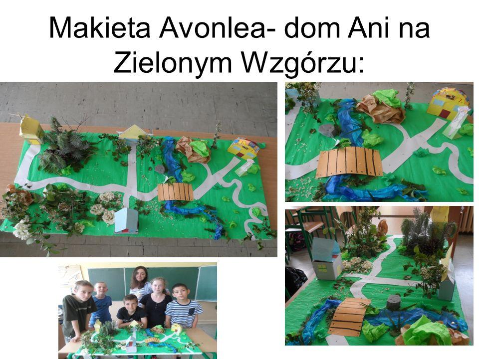 Makieta Avonlea- dom Ani na Zielonym Wzgórzu: