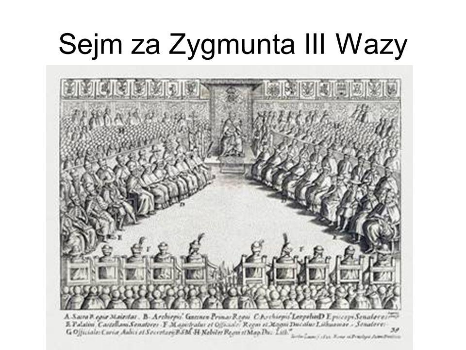 Sejm za Zygmunta III Wazy