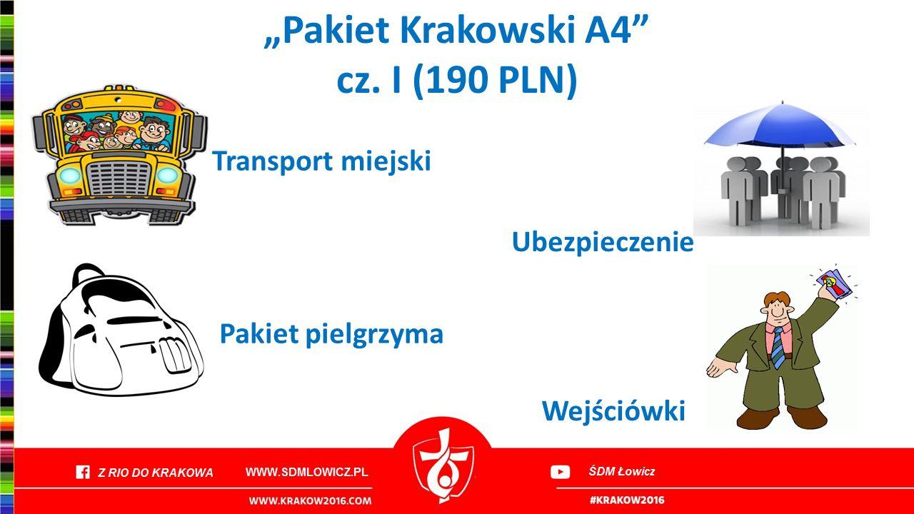 """""""Pakiet Krakowski A4 cz. I (190 PLN)"""