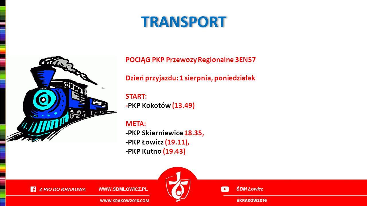 TRANSPORT POCIĄG PKP Przewozy Regionalne 3EN57