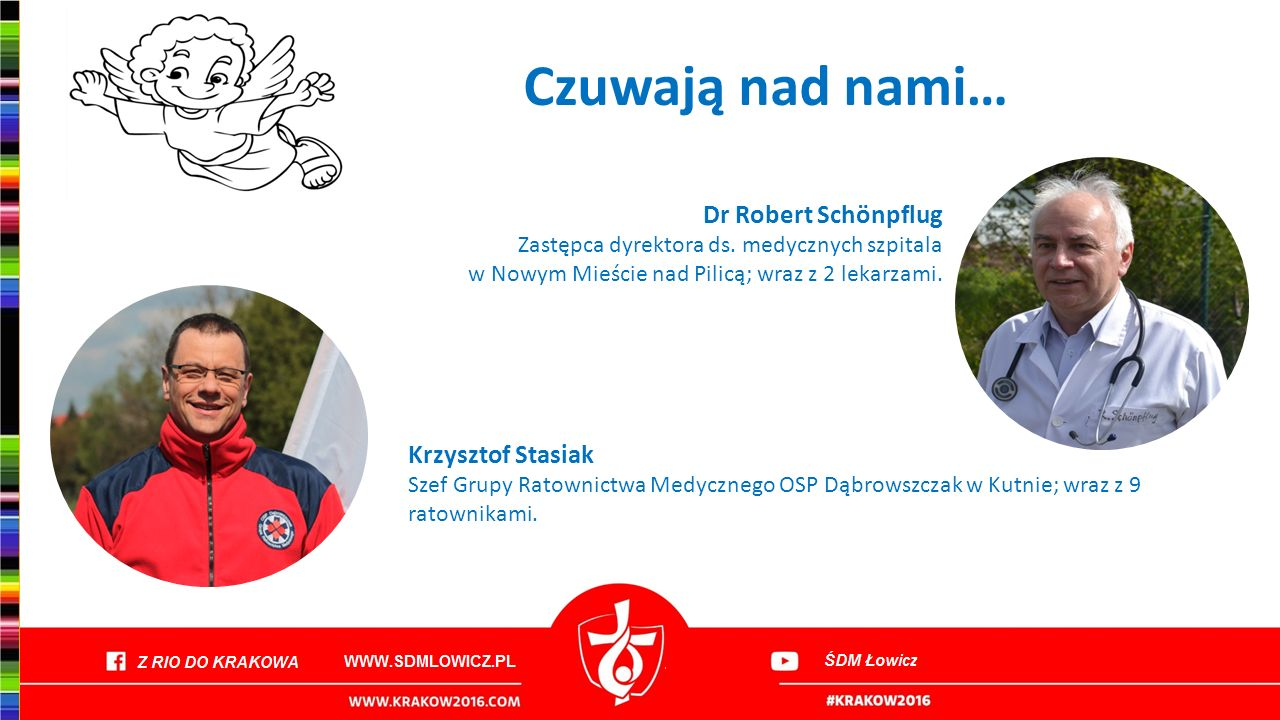 Czuwają nad nami… Dr Robert Schönpflug Krzysztof Stasiak