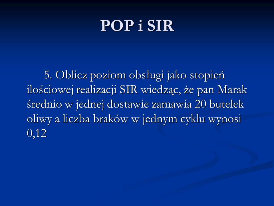 POP i SIR