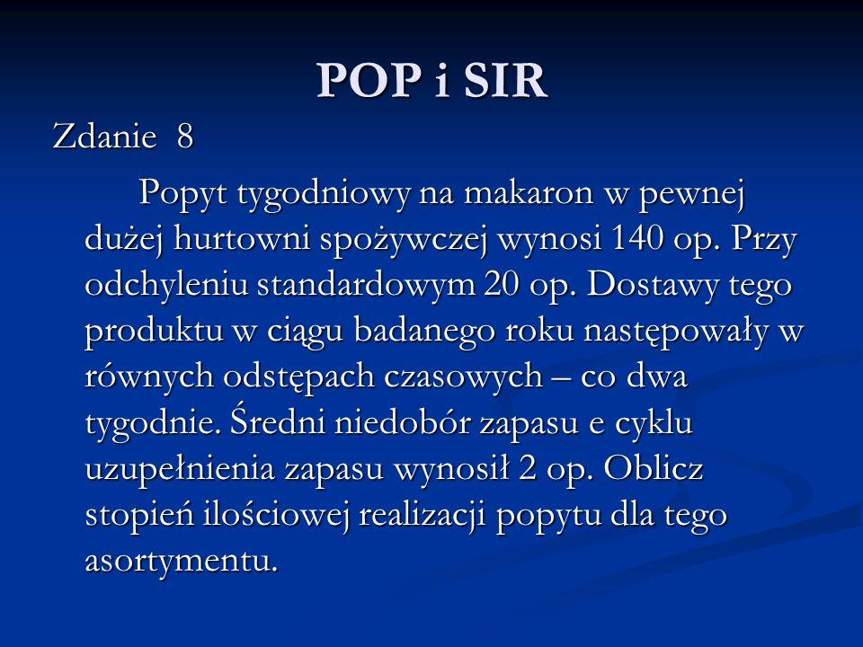 POP i SIR Zdanie 8.