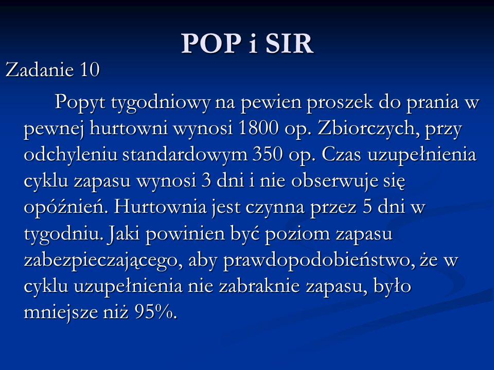 POP i SIR Zadanie 10.