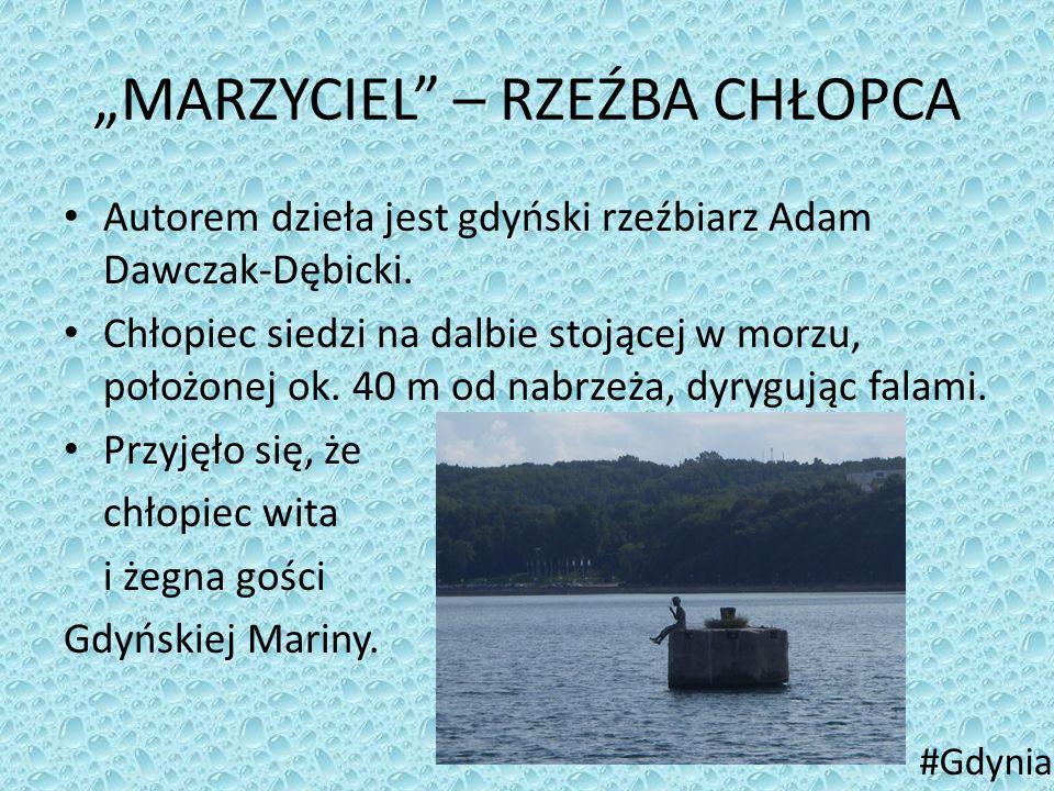 """""""MARZYCIEL – RZEŹBA CHŁOPCA"""