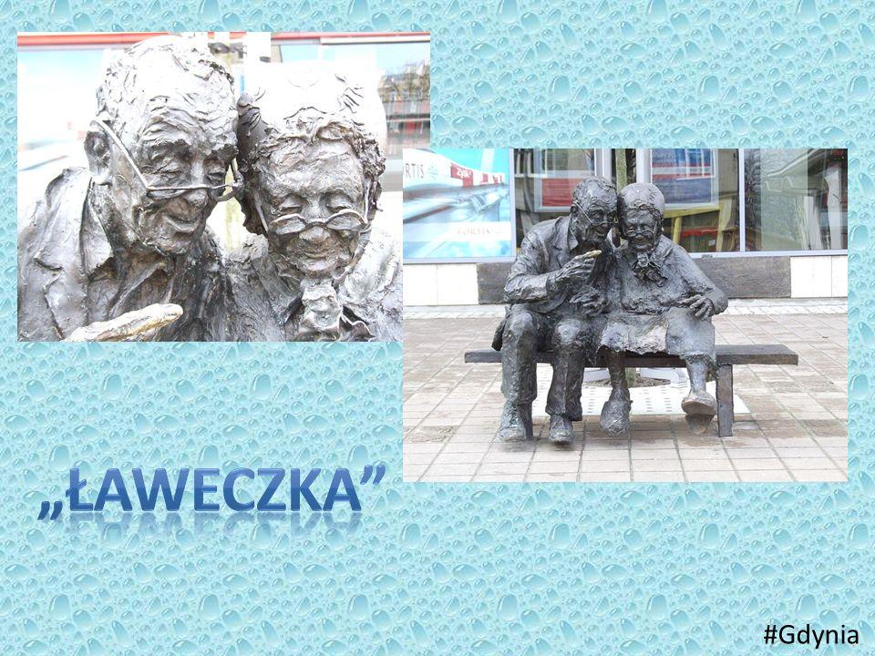"""""""ławeczka #Gdynia"""