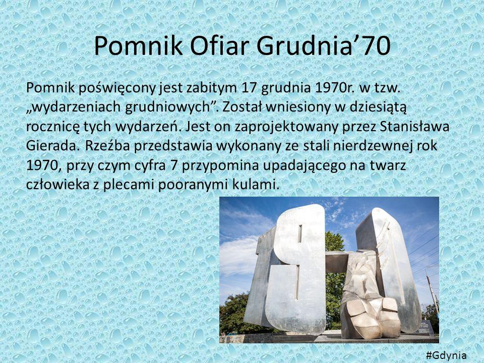 Pomnik Ofiar Grudnia'70