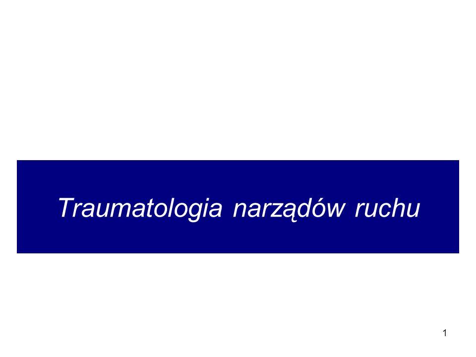 Traumatologia narządów ruchu