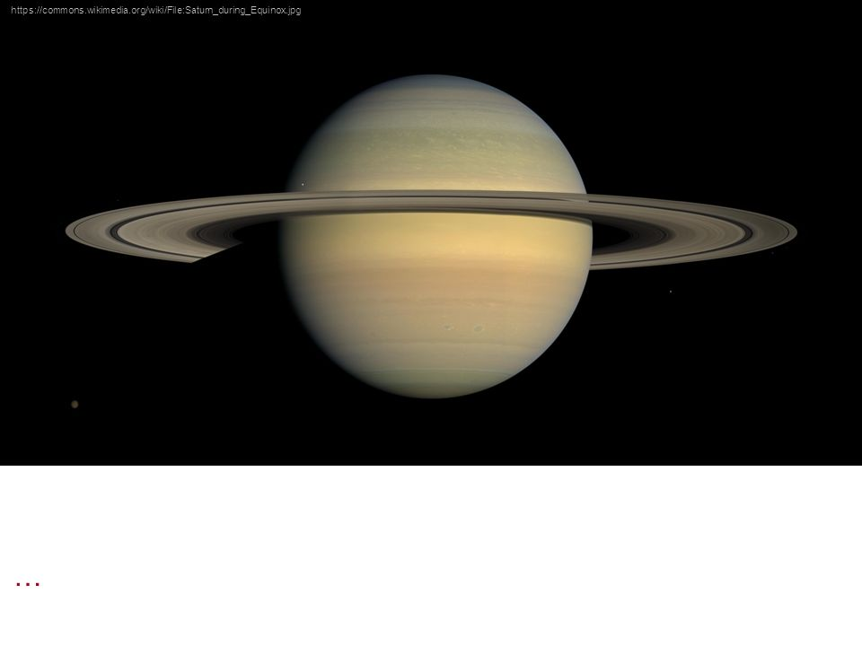 https://commons.wikimedia.org/wiki/File:Saturn_during_Equinox.jpg …