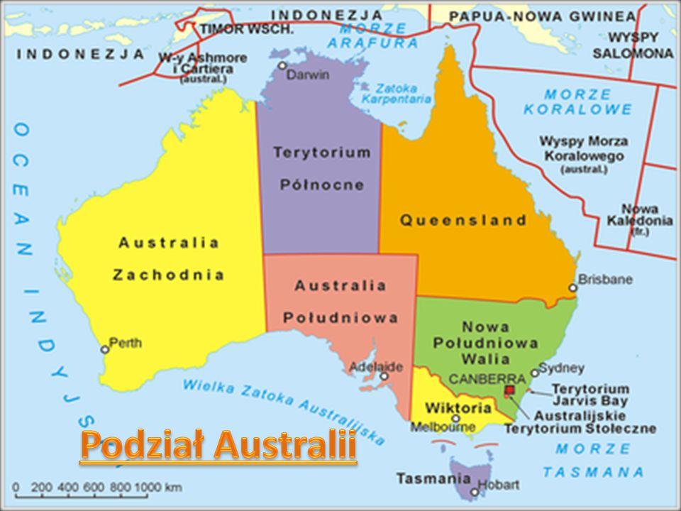 Podział Australii