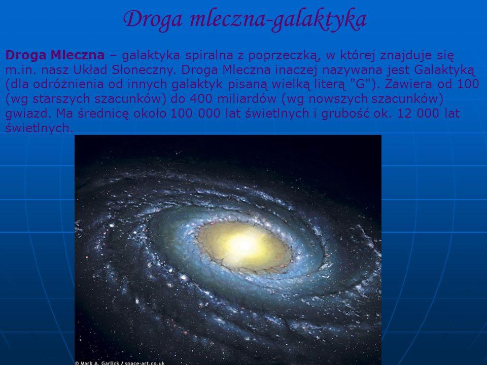 Droga mleczna-galaktyka