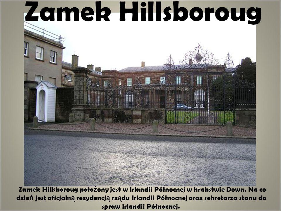 Zamek Hillsboroug