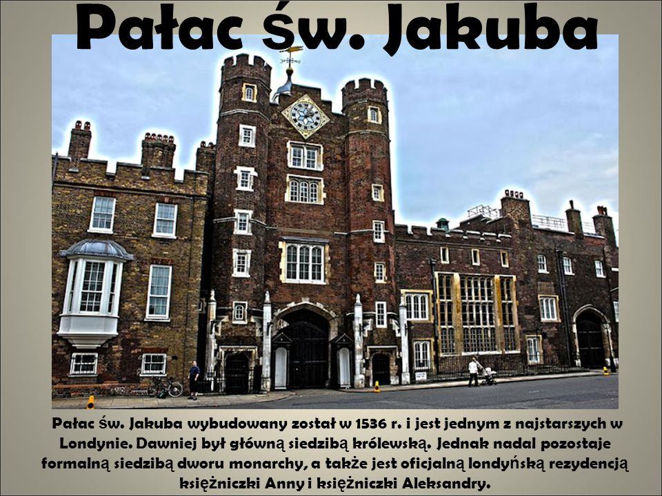 Pałac św. Jakuba