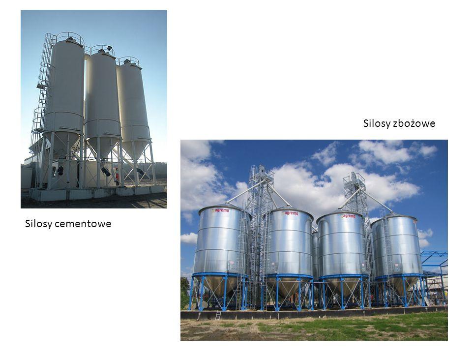 Silosy zbożowe Silosy cementowe