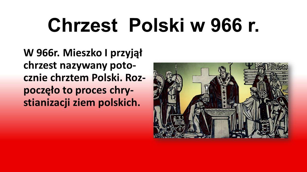 Chrzest Polski w 966 r.