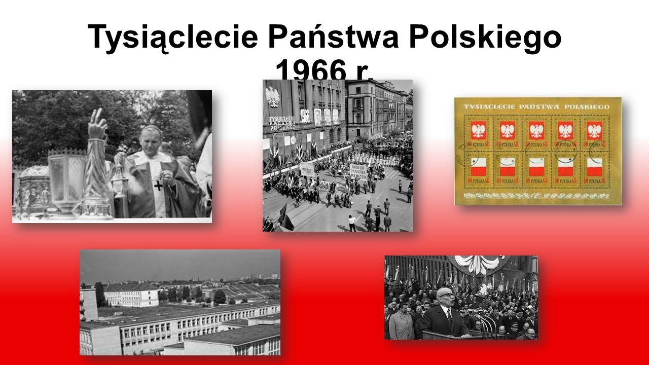 Tysiąclecie Państwa Polskiego 1966 r.