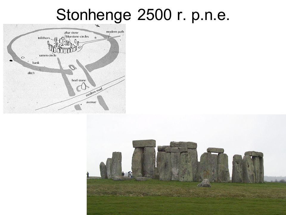 Stonhenge 2500 r. p.n.e.