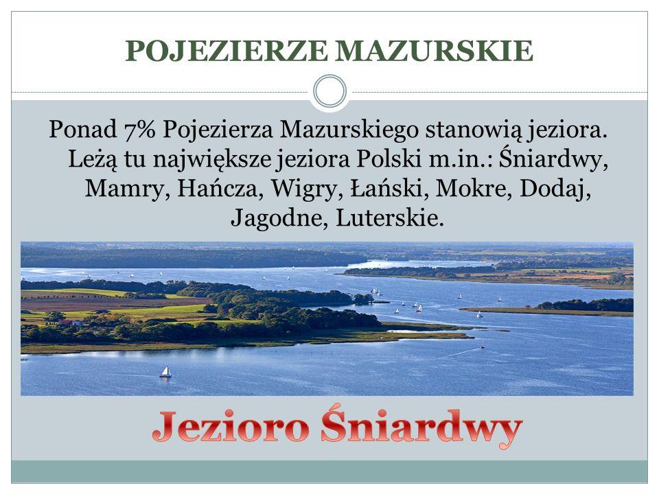 Jezioro Śniardwy POJEZIERZE MAZURSKIE