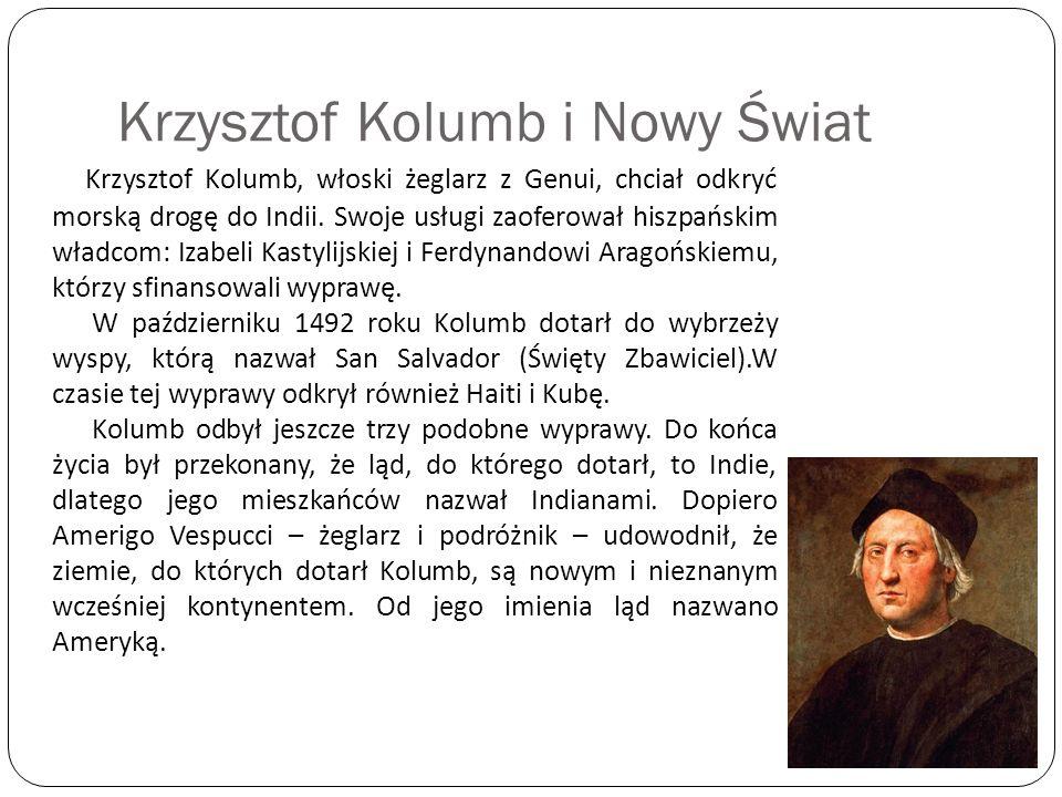 Krzysztof Kolumb i Nowy Świat