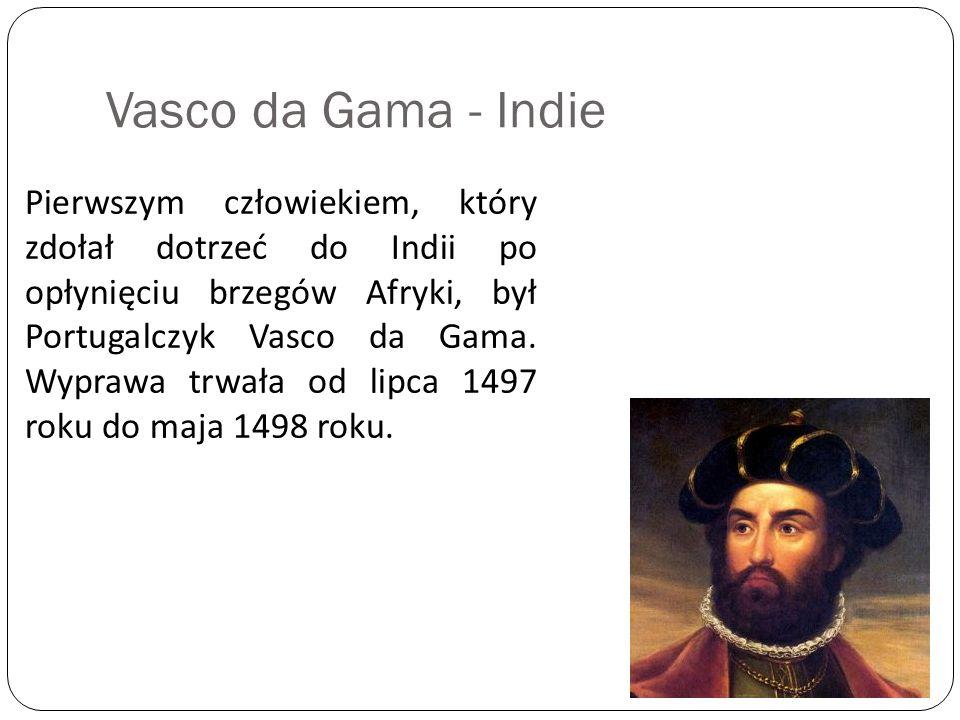Vasco da Gama - Indie