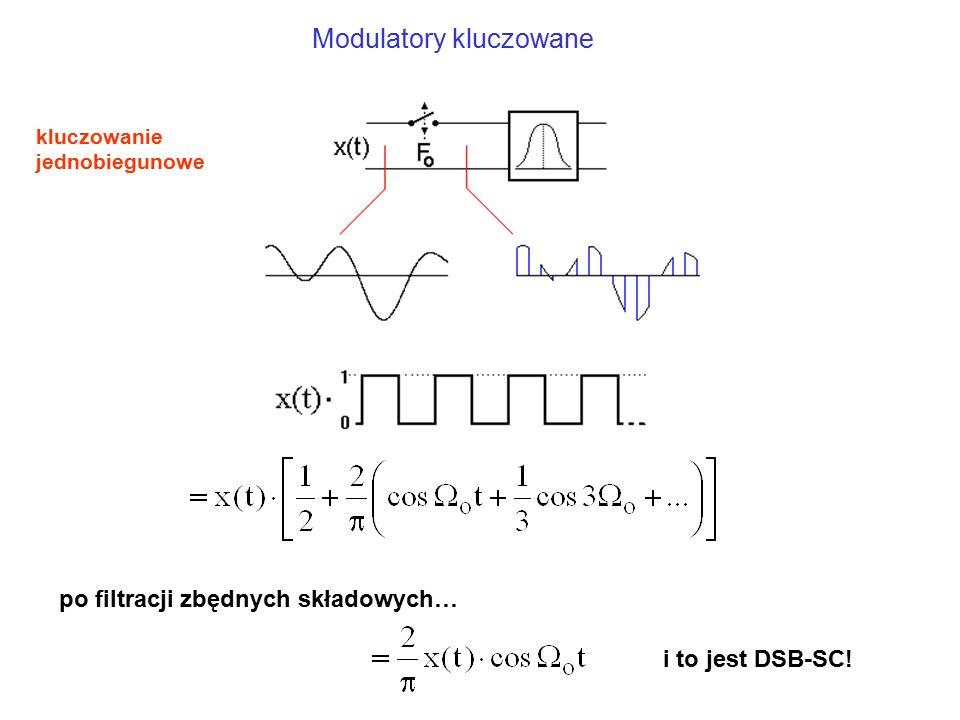 Modulatory kluczowane