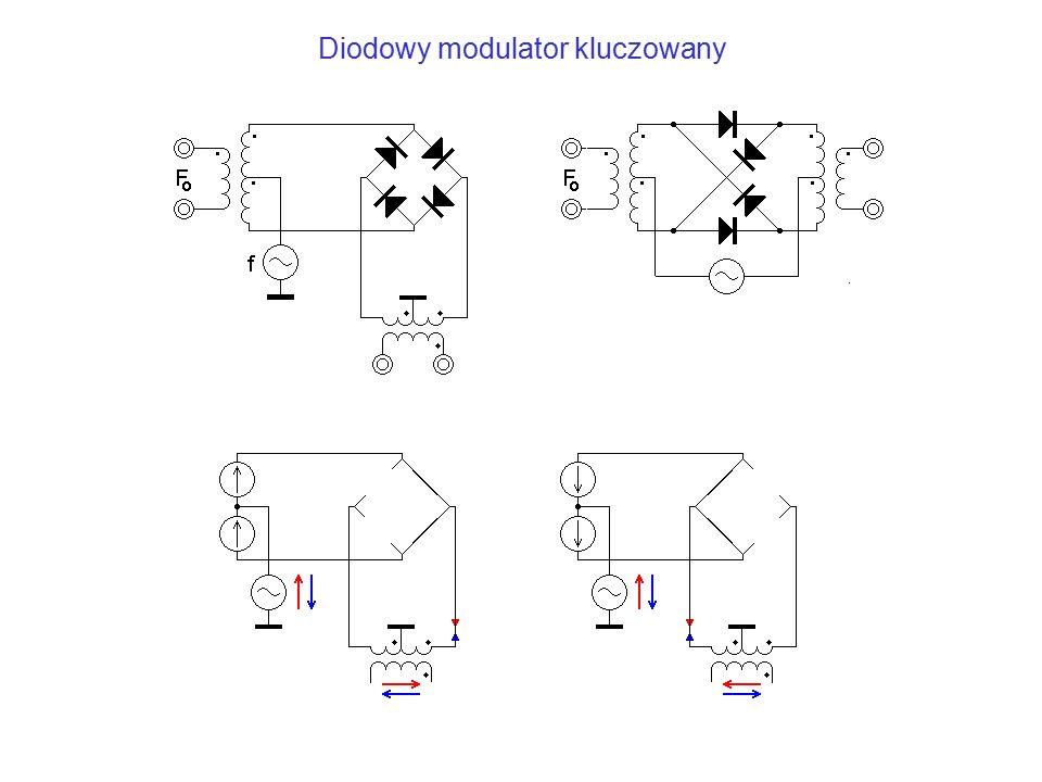 Diodowy modulator kluczowany
