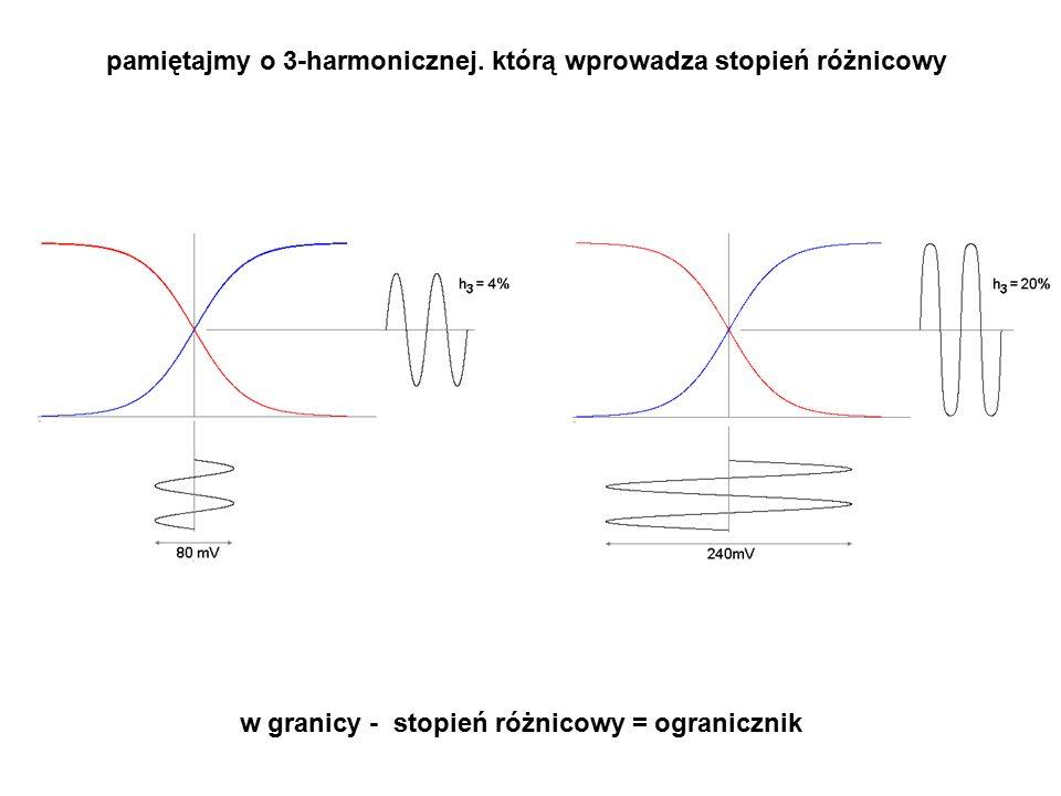 pamiętajmy o 3-harmonicznej. którą wprowadza stopień różnicowy