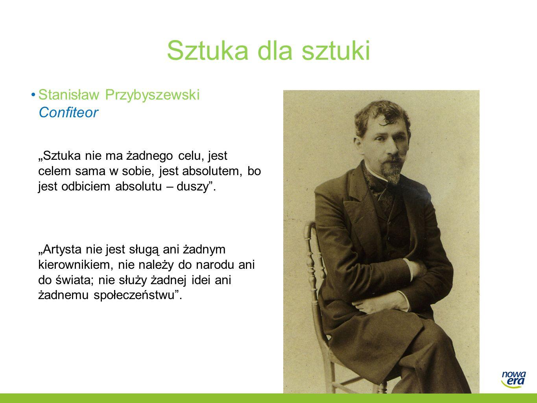 Sztuka dla sztuki Stanisław Przybyszewski Confiteor