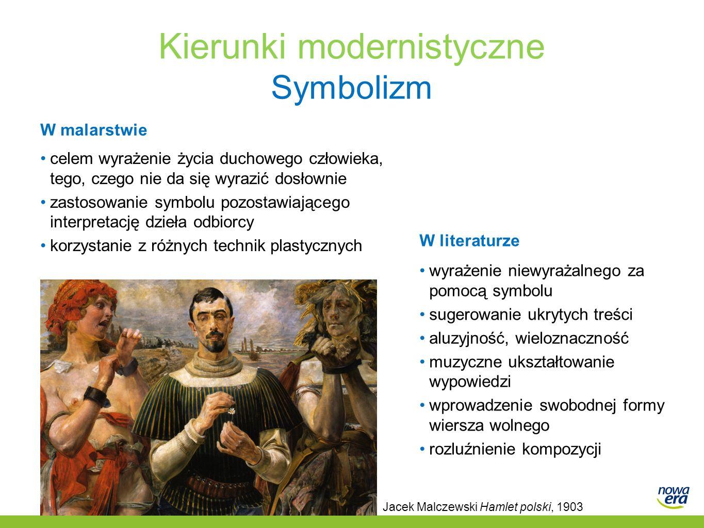 Kierunki modernistyczne Symbolizm
