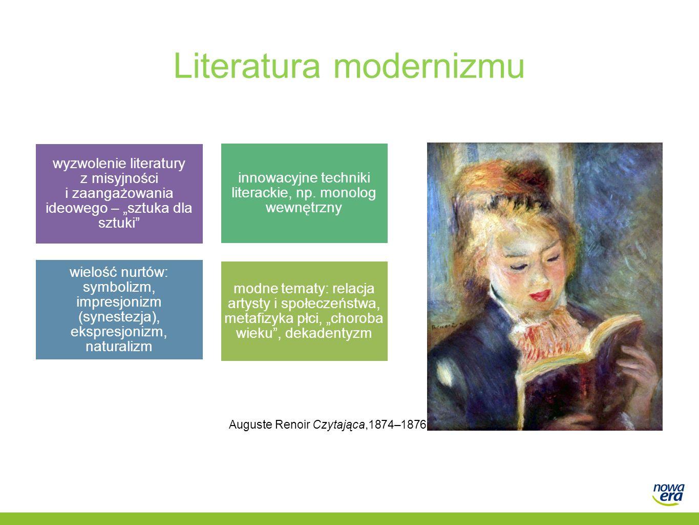 Literatura modernizmu
