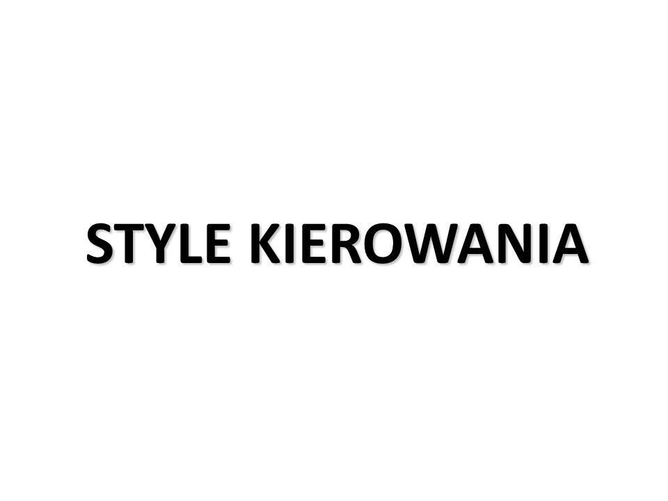 STYLE KIEROWANIA