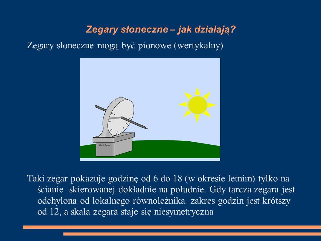 Zegary słoneczne – jak działają