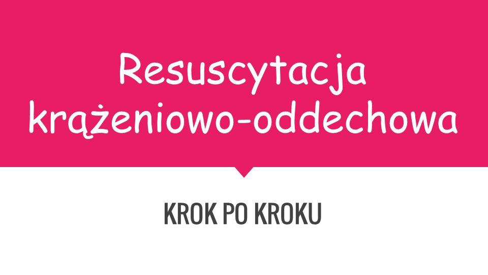 Resuscytacja krążeniowo-oddechowa