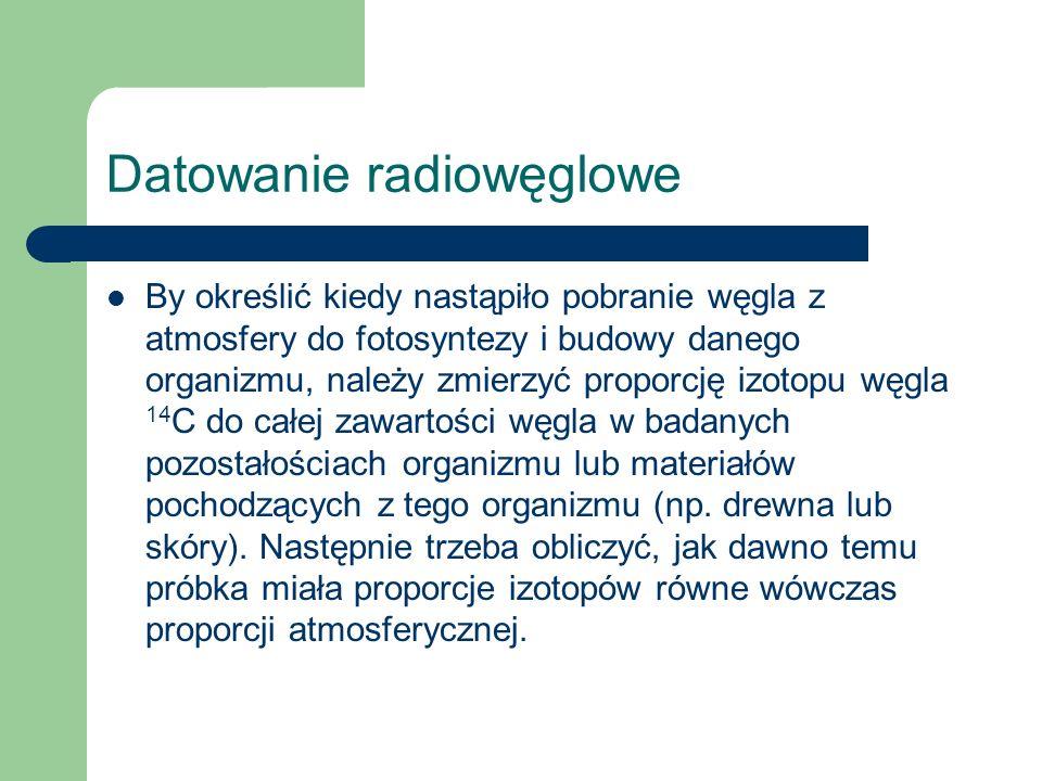 Datowanie radiowęglowe