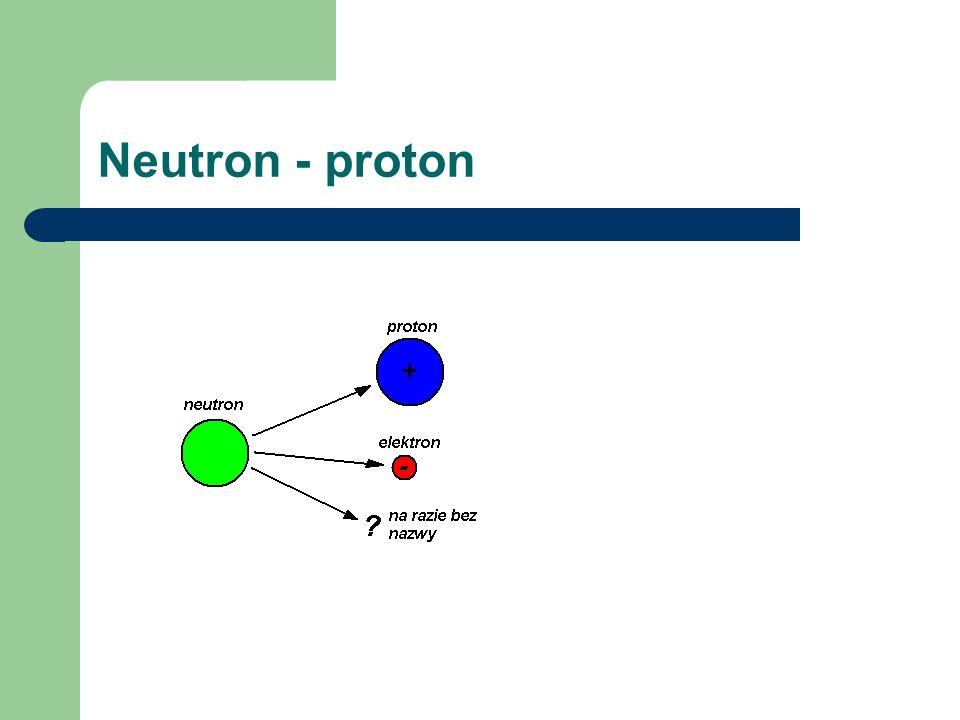 Neutron - proton