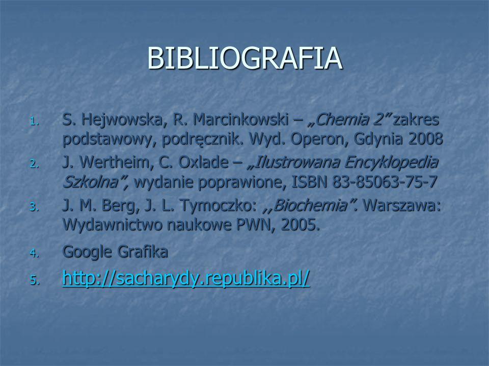 BIBLIOGRAFIA http://sacharydy.republika.pl/