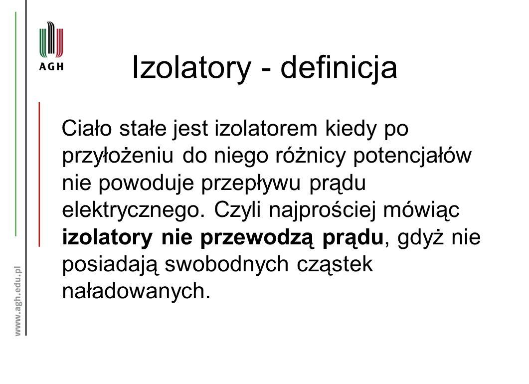 Izolatory - definicja