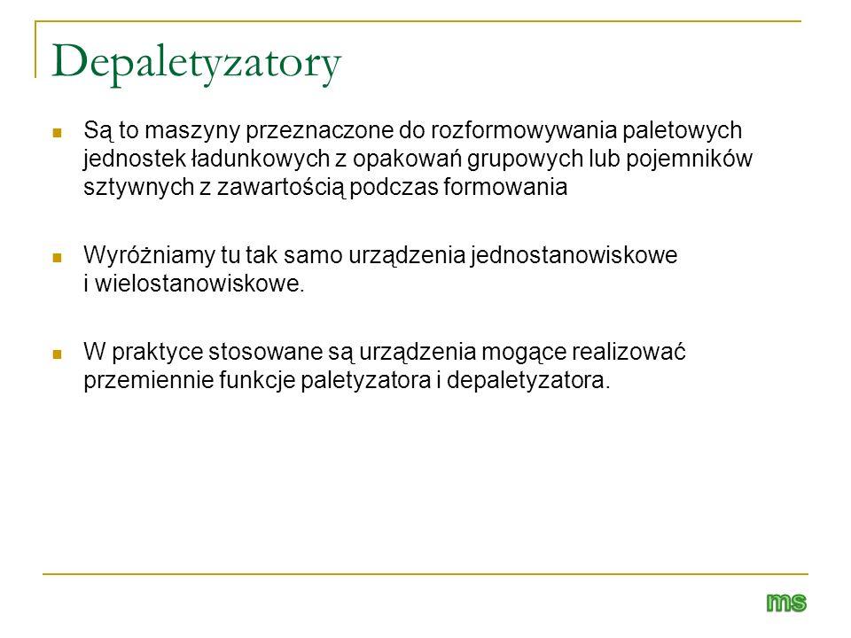 Depaletyzatory