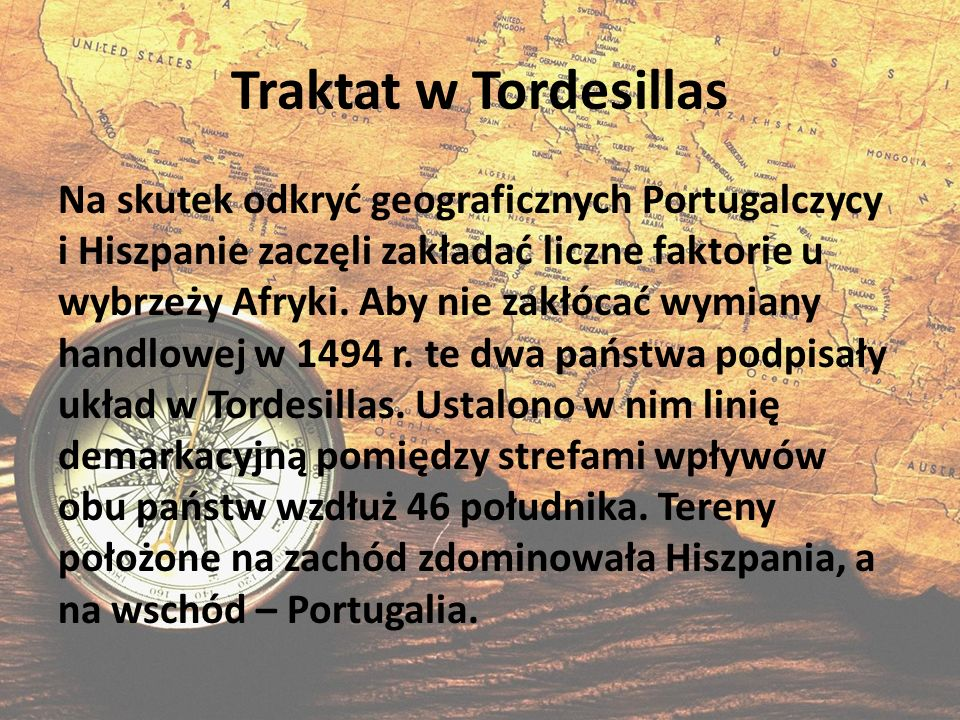 Traktat w Tordesillas