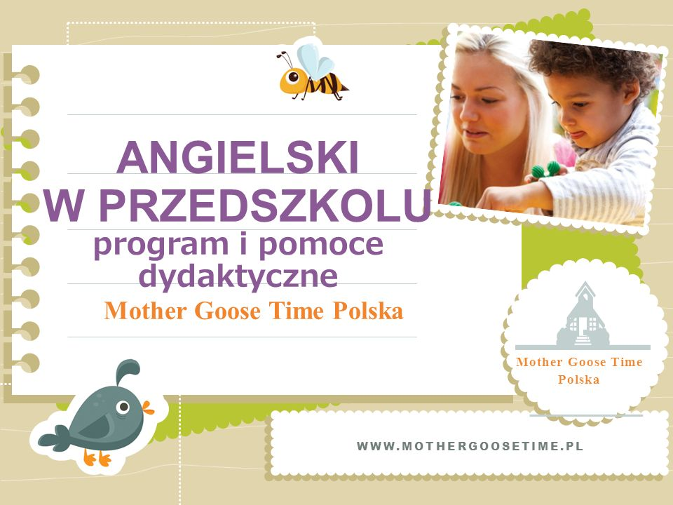 ANGIELSKI W PRZEDSZKOLU program i pomoce dydaktyczne