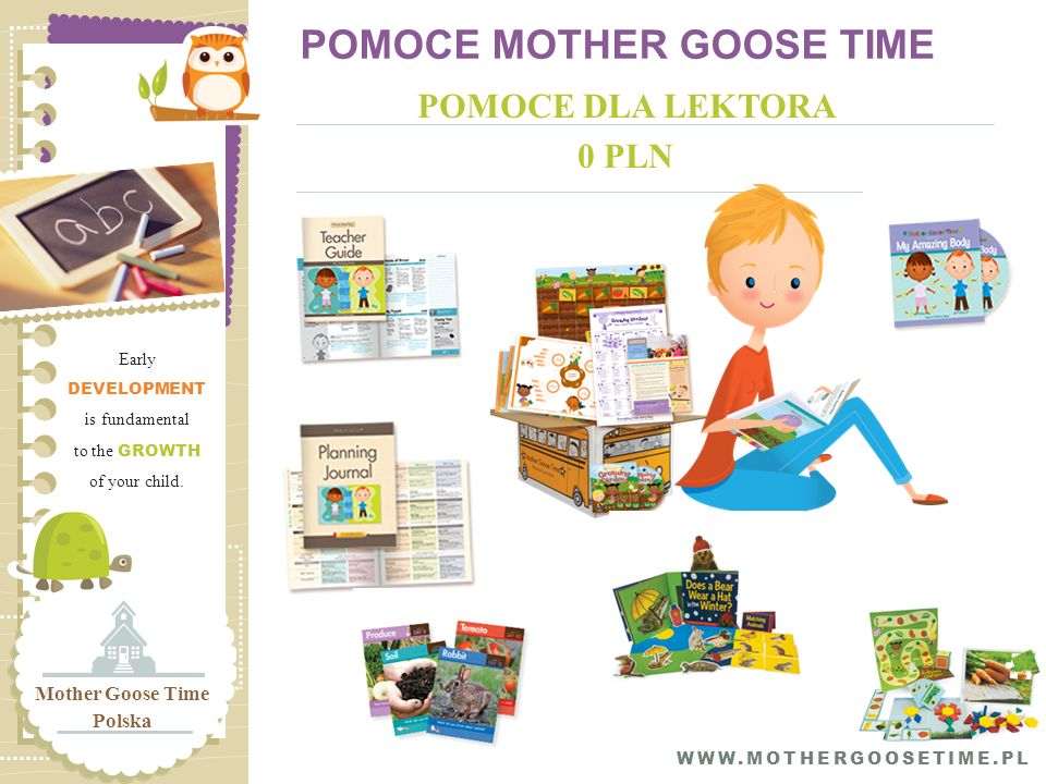 POMOCE MOTHER GOOSE TIME