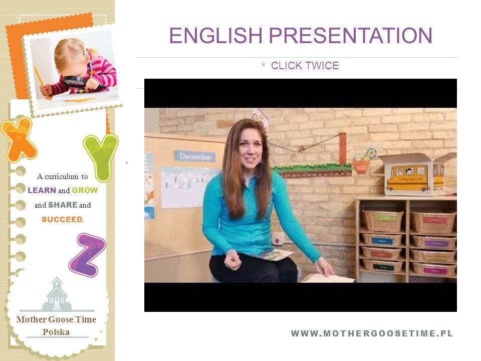 ENGLISH PRESENTATION * CLICK TWICE