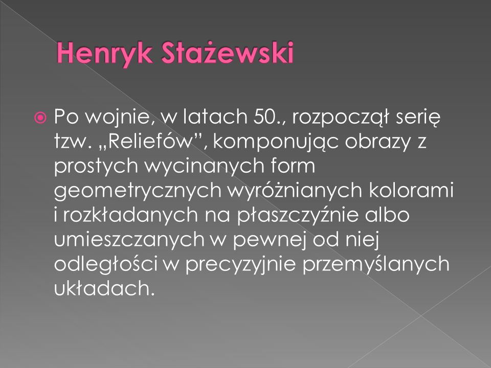 Henryk Stażewski