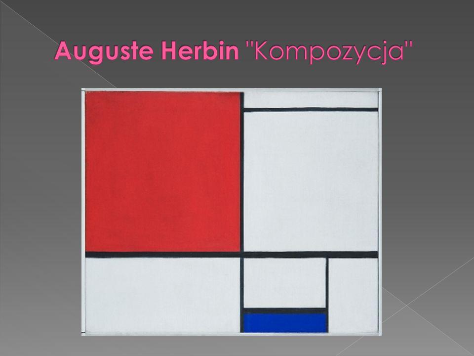 Auguste Herbin Kompozycja