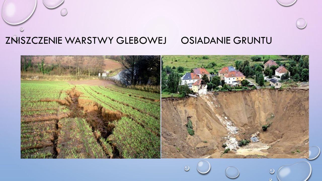Zniszczenie warstwy glebowej