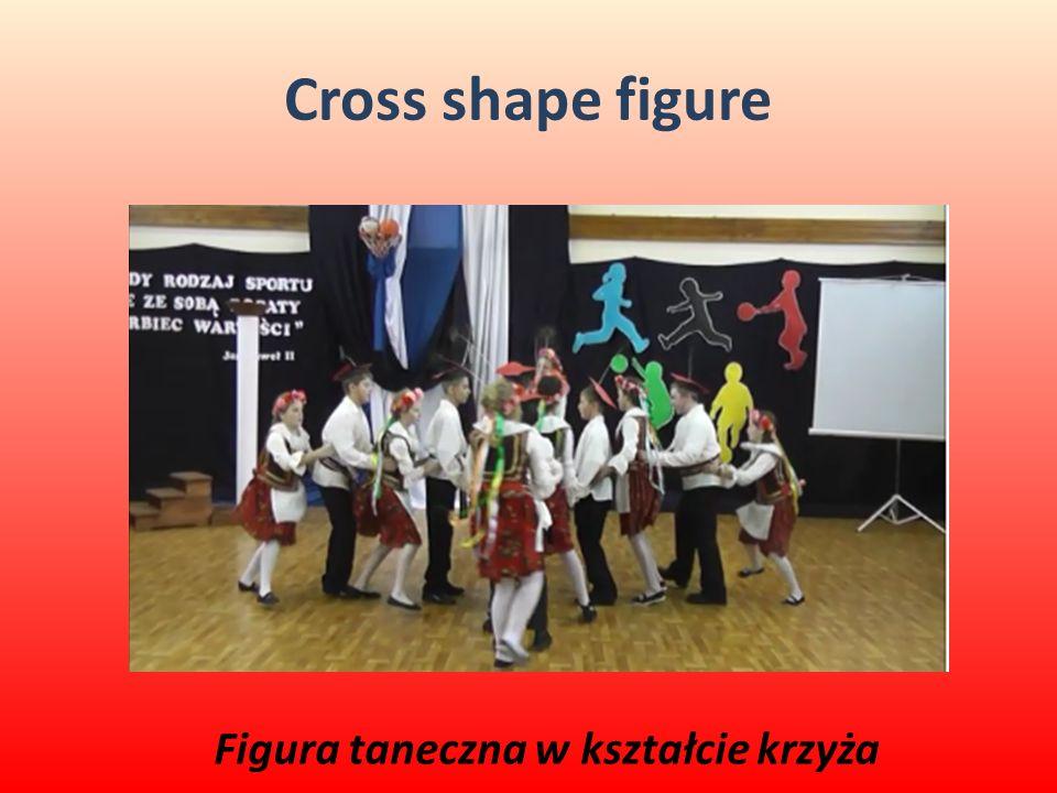 Figura taneczna w kształcie krzyża
