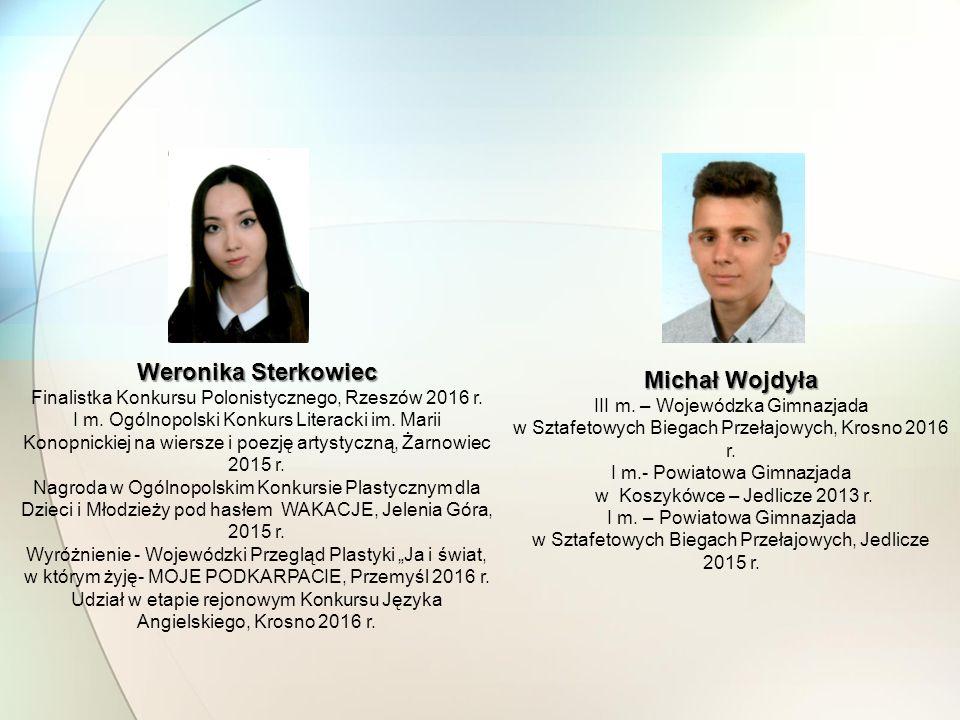 Weronika Sterkowiec Michał Wojdyła