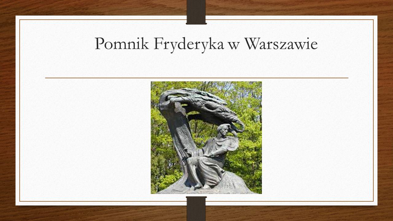 Pomnik Fryderyka w Warszawie